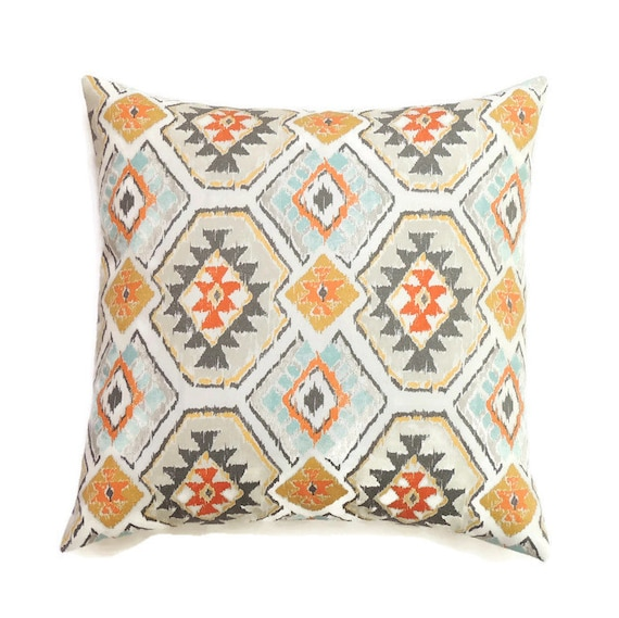 Southwestern Pillow Cover 16x16 Pillow Cover Decorative