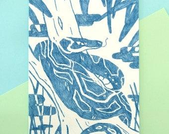 Kaa Original Prints