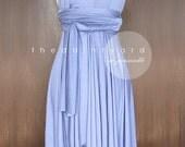 Periwinkle Bridesmaid Dress Convertible Dress Infinity Dress Multiway Dress Wrap Dress Wedding Dress Prom Dress Cocktail Dress Twist Dress