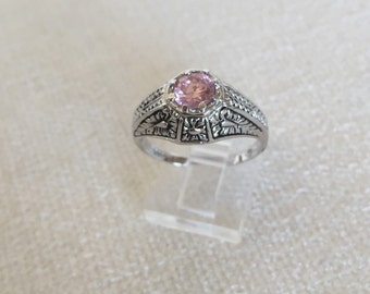 Sale Sterling Edwardian Ring Size 8