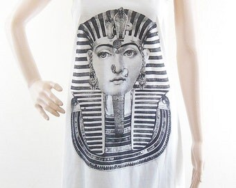 Egyptian Pharaoh Shirt women tshirt women tank top tunic top vest sleeveless size M