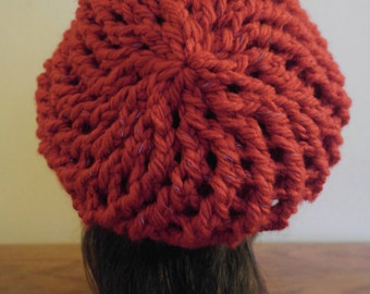 Reflective slouchy hat