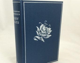 Hans Christian Andersen Fairy Tales, Two Volume Set, Volume I, Volume II, Svend Larsen, Flensted, Odense, Denmark, Hardcover Fairy Tale Book
