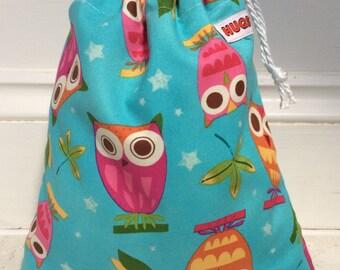 Kid's, Children's Owl wash bag, toiletry bag