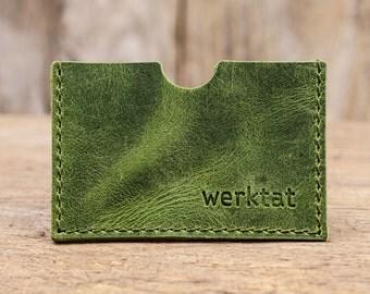 Carte support cuir affaire de crédit carte de crédit titulaire EC cartes, cadeau porte vert rouge bleu gris portefeuille pour collègues femmes hommes
