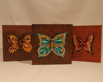 Butterfly Canvas Series