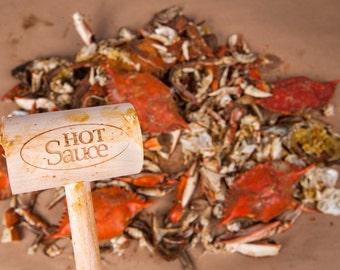 Hot Sauce Crab Mallet Slays Steamed Crabs, Side Chicks, and the Patriarchy. Just Like Beyonce Demands. Feminist Stocking Stuffer.