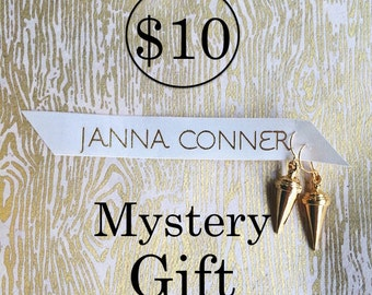 Janna Conner /Mystery Gift / Grab Bag / 10 and under / 10 gifts / Jewelry Gifts for Her / Party Favor / Bff gift / Gifts under 10 / under 20