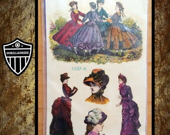 Vintage 1970's/70's: (Sealed Unopened Package) New 5 MEYERCORD CRAFT Decorative Water Transfer DECALS of Victorian Women Decoupage
