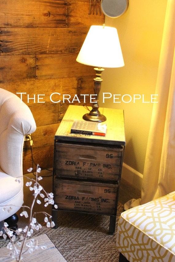 Crate table by the Crate People