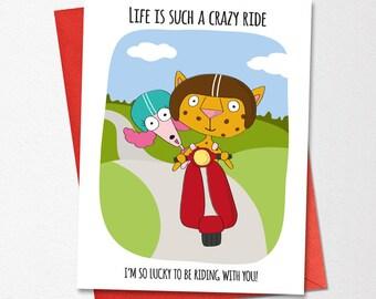 Valentines Day Card Funny Wedding Love