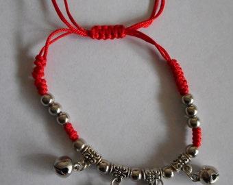 Red Elephant Bracelet - Good luck