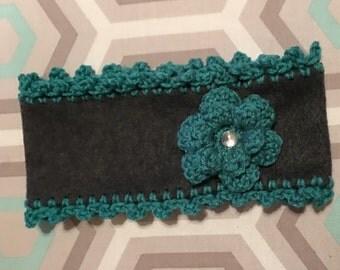 Crochet Fleece Headband