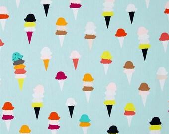 Ice Cream Fabric Multicolored - Art Gallery I Scream You Scream cotton
