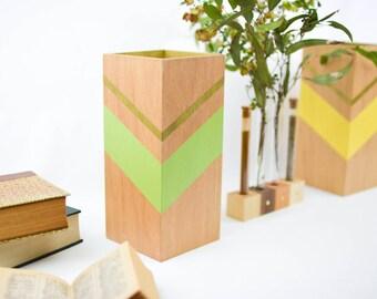 items similar to arrow lamp table lamp wooden lighting modern walnut lamp geometric table. Black Bedroom Furniture Sets. Home Design Ideas