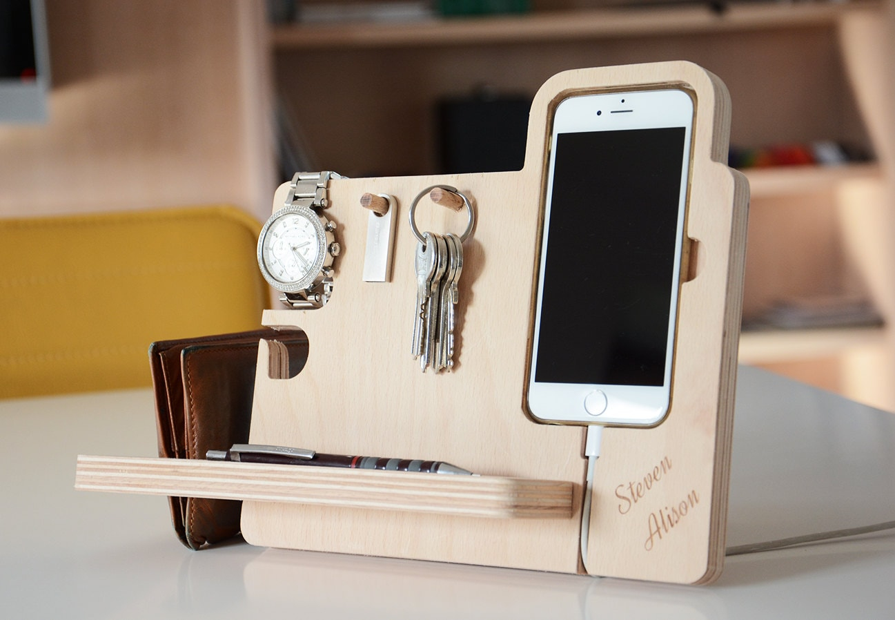 Iphone6 6s Personalized Docking Station Anniversy Gifts For