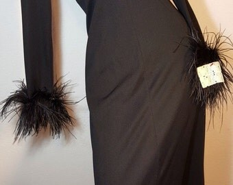 FREE  SHIPPING  1970  Feather Maxi