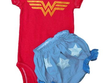 Wonder Woman, Baby Costume, Superhero