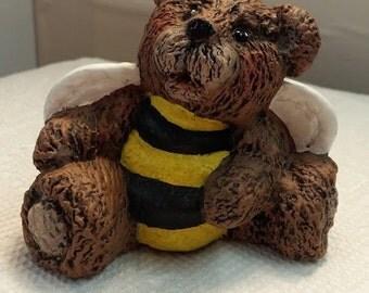 Sitting Ceramic Buzz Bee Bear