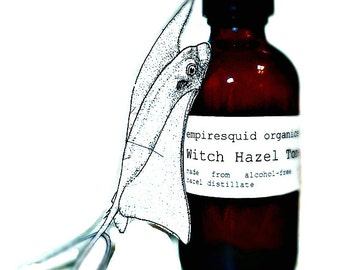 Witch Hazel Toner - Alcohol Free Facial Toner - Natural Face Toner - Skin Toner - Witch Hazel Facial Toner