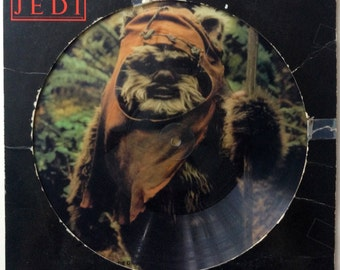 The Story of Return of the Jedi LP Vinyl Record Album Buena Vista Records - 63155, Movie Effects, Spoken Word 1983, Original Pressing