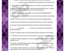 Wedding Shower Pass The Gift Poem : Printable Customizable Baby Shower Activity: Pass the Prize - Instant ...