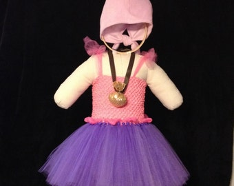 PIRATE GIRL, Izzy from Jake and the Neverland Pirates Inspired Tutu Costume