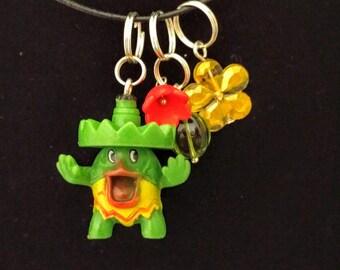 pokemon inspired ludicolo charm cell phone necklace bracelet