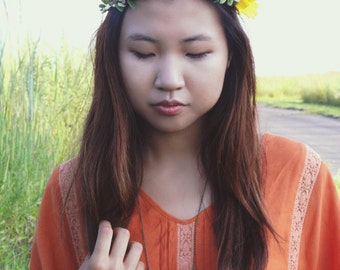 Flower Crown-Wedding-Bridal-Headband-Girls