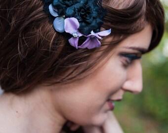 Gothic Fairy Brooch Fascinator