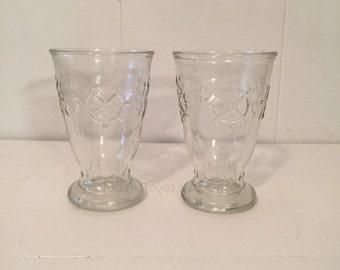 Vintage Nautical Juice Glasses