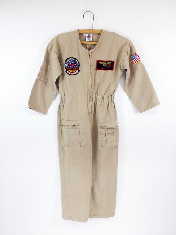 vintage pilot flight suit jetaone aerospace by modernminer