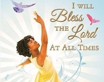 New 3D Bless the Lord Magnet