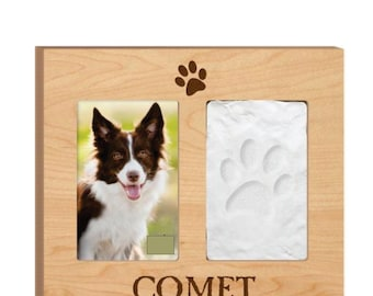 Personalized Dog Frame - Personalized Cat Frame - Dog Frame Custom - Cat Frame Custom - Dog Loss Frame - Custom Engrave Frame -Picture Frame