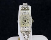 Robbins's 14K Gold and Pave Diamond Wrist Watch