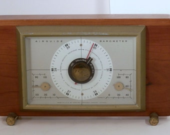 Vintage Airguide Barometer, Thermometer, Humidity gauge