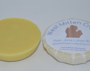 Plain Jane Lotion Bar (unscented)