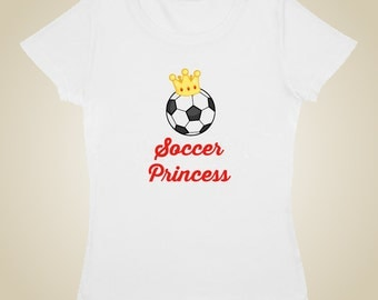 Soccer Princess shirt