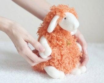 Stuffed Toy Sheep - Lamb - Ewe - Plush Plushie Toy - Cute Soft Toy - Faux Fur Toy - Birthday Gift