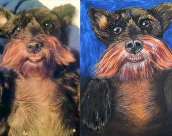 Custom pet portraits,Alaska art by Alaskan,order painting from photograph,painting services,animal birthday,dogs,cats,remember departed pet