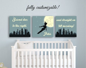 Peter Pan Decor Etsy - Decor for kids room