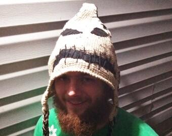 Oogie Boogie Crocheted Hat