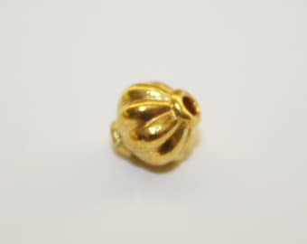 Spacers, Gold Bead Spacer, Bead Spacer - 7x8mm - 20ct - #532