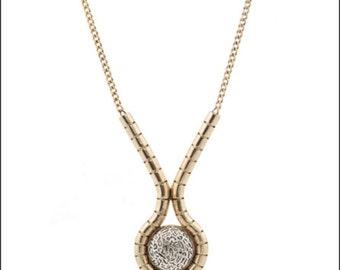 Stone Lava Statement Necklace (erin wasson)