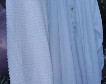 White nightgown BRIDE shabby chic vintage