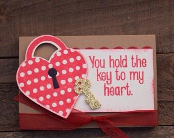 Valentine Party Favor, Classroom Valentines, Valentine Gifts, Valentine Teacher Gift, Heart Valentine Gum Holder (Set of 12)