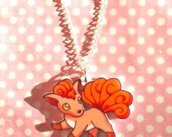 Super Cute Vulpix pendant necklace