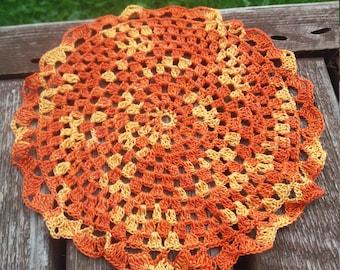 Set of 5 crochet placemat