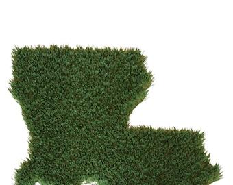 Artificial Grass Rug Fabulous Relaxing Fake