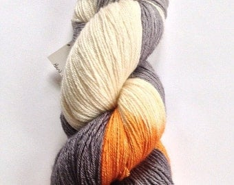 20% off! Queen's Day - Hand Painted Silk/BFL wool blend